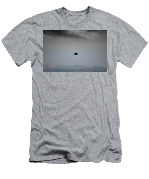 The Persevering Pelican Men's T-Shirt (Athletic Fit)