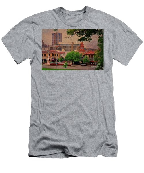 The Plaza - Kansas City Missouri Men's T-Shirt (Athletic Fit)