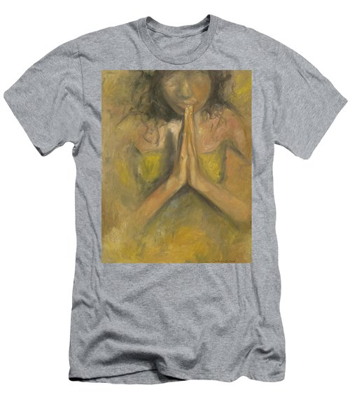 The Power Of Prayer - Blind Faith Men's T-Shirt (Athletic Fit)