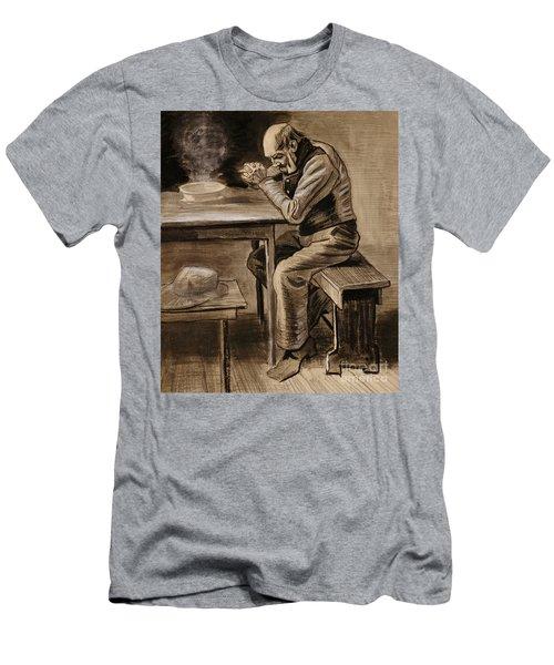 The Prayer Men's T-Shirt (Athletic Fit)