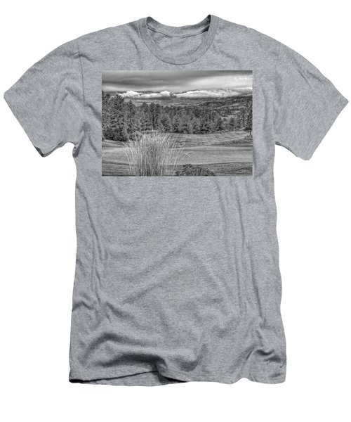 Men's T-Shirt (Slim Fit) featuring the photograph The Ridge 18th by Ron White