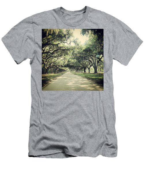 The Road From Boone Hall Men's T-Shirt (Athletic Fit)