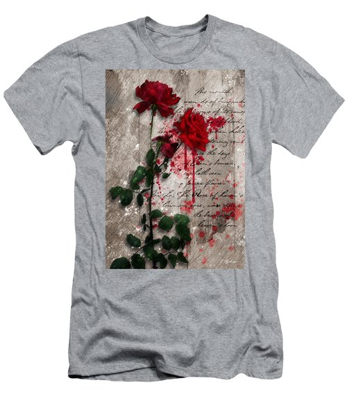The Rose Of Sharon Men's T-Shirt (Slim Fit) by Gary Bodnar