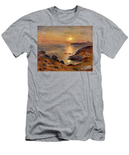 The Setting Of The Sun At Douarnenez61 Men's T-Shirt (Athletic Fit)
