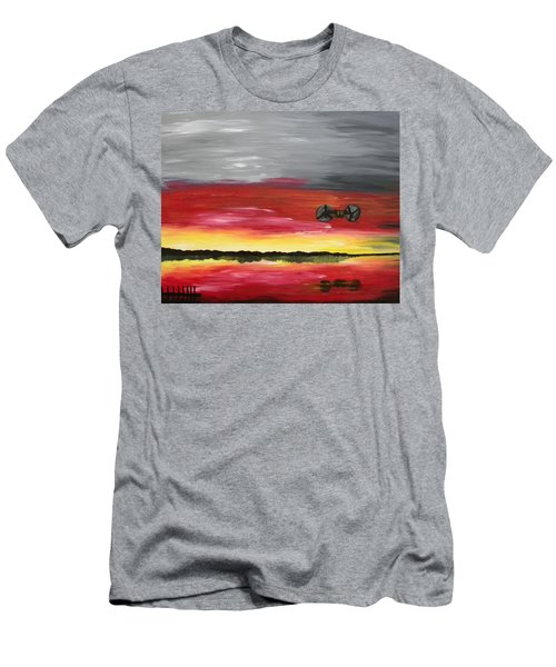 The Sound Of Freedom Men's T-Shirt (Athletic Fit)