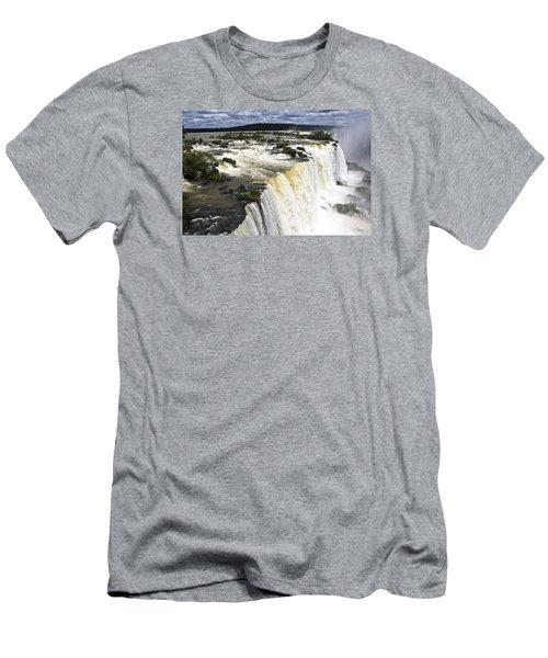 The Stunning Falls Of Iguacu Brazil Side Men's T-Shirt (Athletic Fit)
