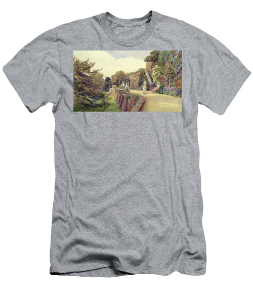 The Terrace At Berkeley Castle Men's T-Shirt (Athletic Fit)