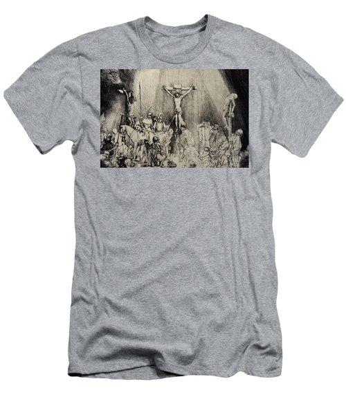 The Three Crosses Men's T-Shirt (Athletic Fit)