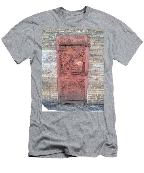 The Three Heart Door. Men's T-Shirt (Athletic Fit)