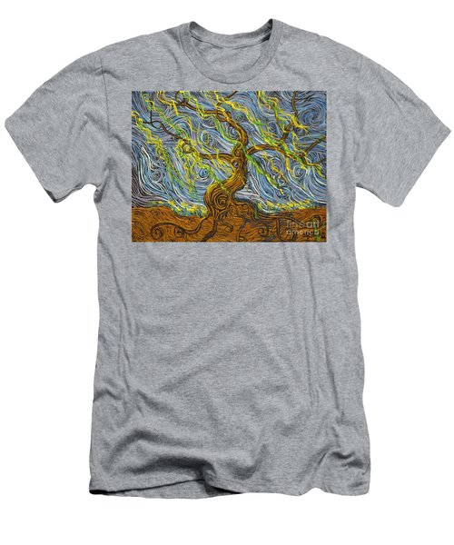 The Tree Have Eyes Men's T-Shirt (Athletic Fit)