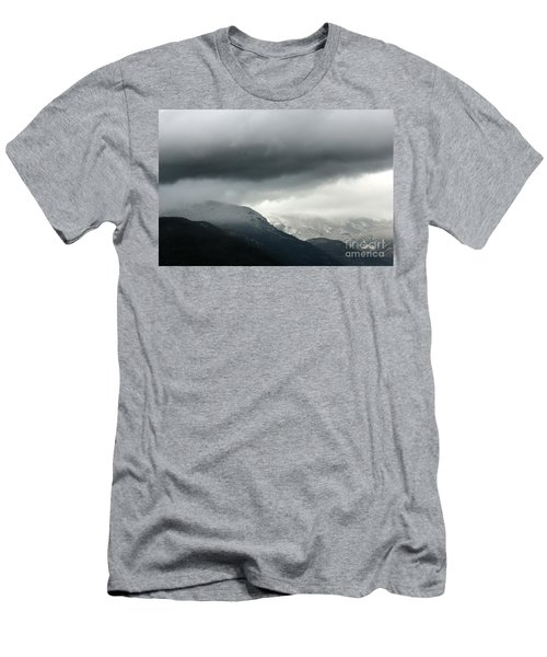 Men's T-Shirt (Slim Fit) featuring the photograph The Valley by Dana DiPasquale