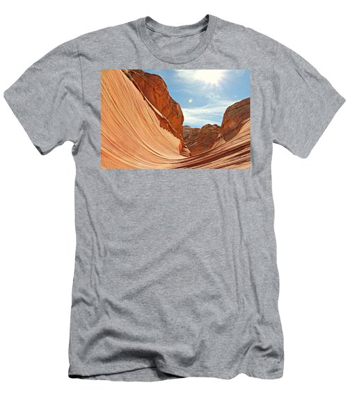 The Wave Rock #1 Men's T-Shirt (Athletic Fit)