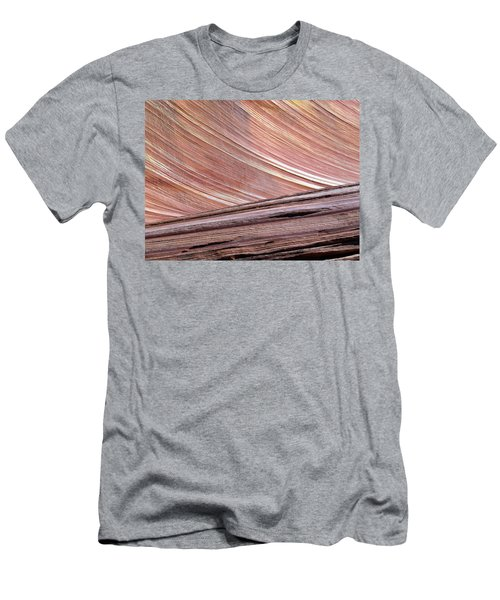 'the Wave' North Coyote Buttes 02 Men's T-Shirt (Athletic Fit)