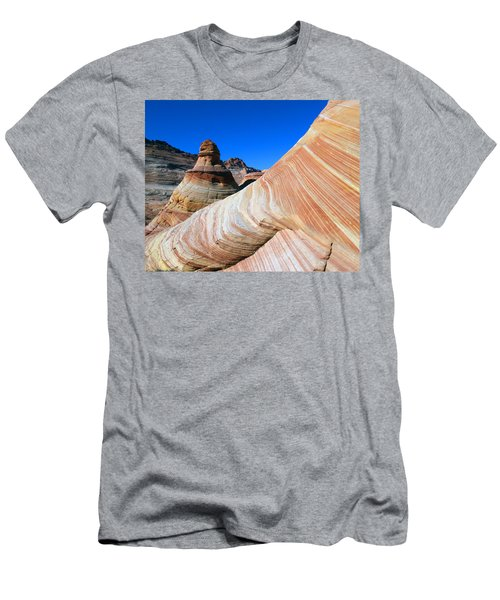 'the Wave' North Coyote Buttes 10 Men's T-Shirt (Slim Fit) by Jeff Brunton