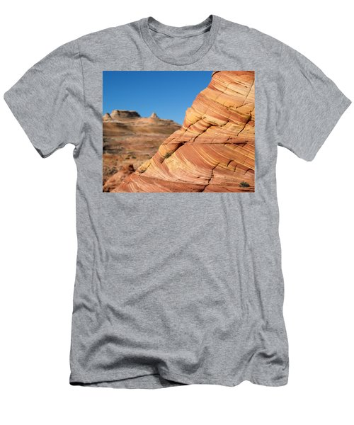 'the Wave' North Coyote Buttes 13 Men's T-Shirt (Athletic Fit)