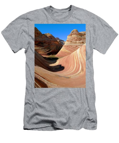 'the Wave' North Coyote Buttes 19 Men's T-Shirt (Athletic Fit)
