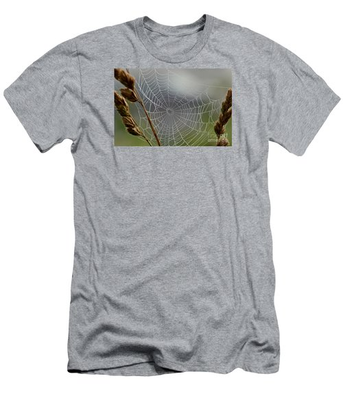 Men's T-Shirt (Slim Fit) featuring the photograph The Web by Kerri Farley
