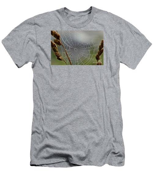 The Web Men's T-Shirt (Slim Fit) by Kerri Farley