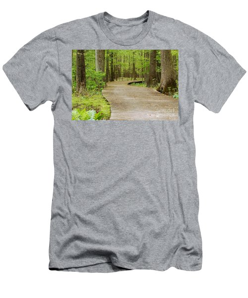 The Wooden Path Men's T-Shirt (Athletic Fit)