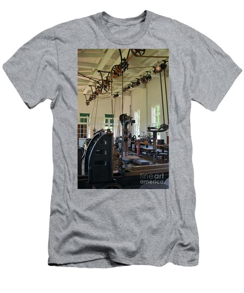Men's T-Shirt (Slim Fit) featuring the photograph The Work Shop by Patrick Shupert