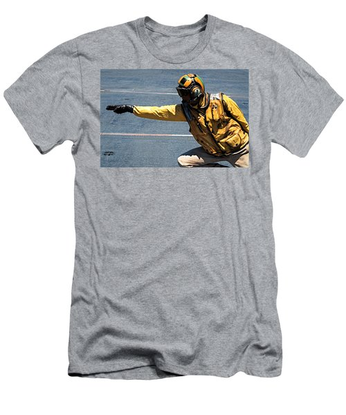 The Yellow Shirt Men's T-Shirt (Athletic Fit)