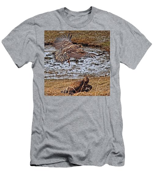 Threat From Above Men's T-Shirt (Athletic Fit)