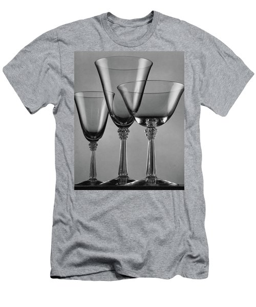 Three Glasses By Fostoria Men's T-Shirt (Athletic Fit)