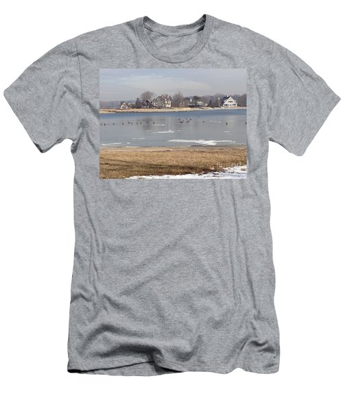 Time In New England Men's T-Shirt (Athletic Fit)