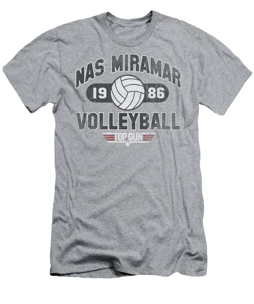 Top Gun - Nas Miramar Volleyball Men's T-Shirt (Athletic Fit)