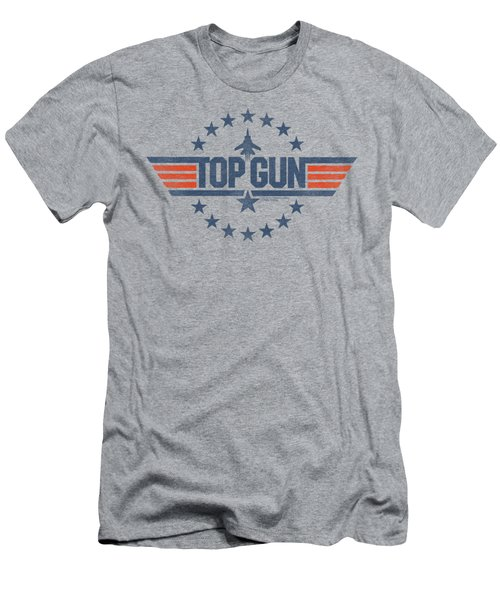 Top Gun - Star Logo Men's T-Shirt (Slim Fit) by Brand A