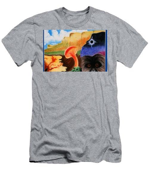 Total Eclispe                Men's T-Shirt (Athletic Fit)