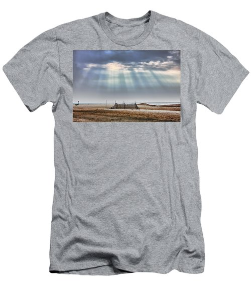 Touched By Heaven Men's T-Shirt (Slim Fit) by Sennie Pierson