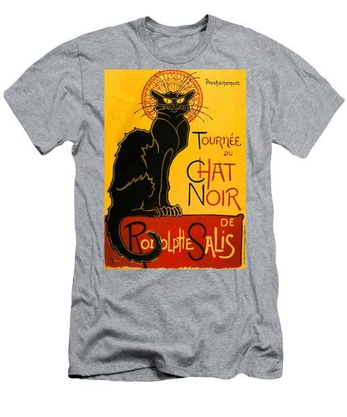 Tournee Du Chat Noir Men's T-Shirt (Athletic Fit)