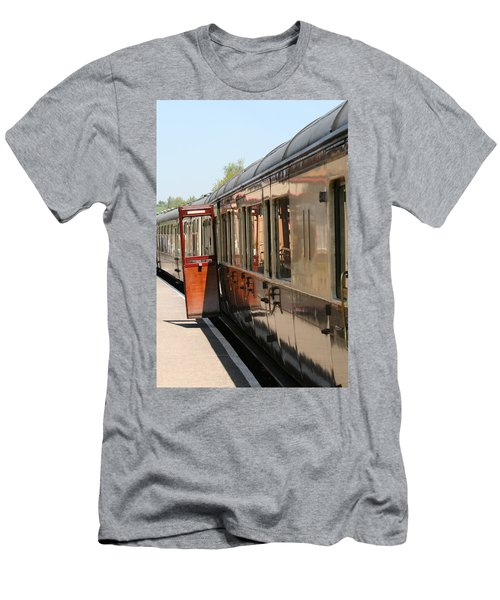 Train Transport Men's T-Shirt (Athletic Fit)