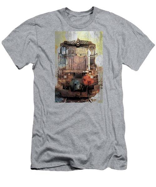 Trains At Rest Men's T-Shirt (Athletic Fit)