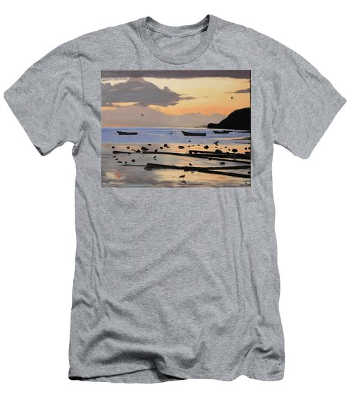 Tranquil Dawn Men's T-Shirt (Athletic Fit)