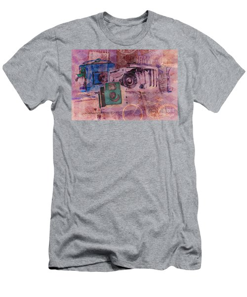 Travel Log Men's T-Shirt (Athletic Fit)