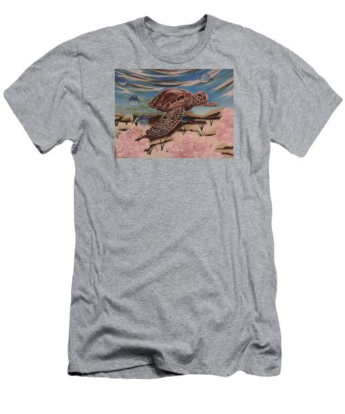 Travis Men's T-Shirt (Slim Fit) by Dianna Lewis