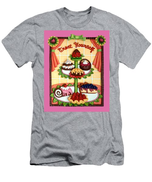 Treat Yourself Men's T-Shirt (Athletic Fit)