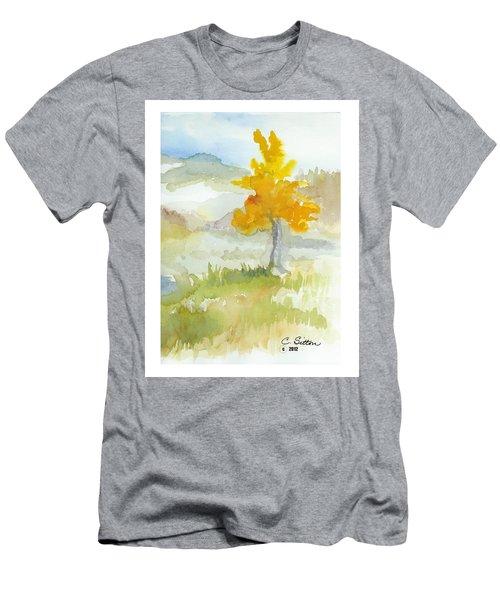Tree Men's T-Shirt (Slim Fit) by C Sitton