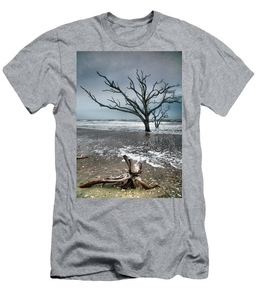 Trees In Surf Men's T-Shirt (Athletic Fit)