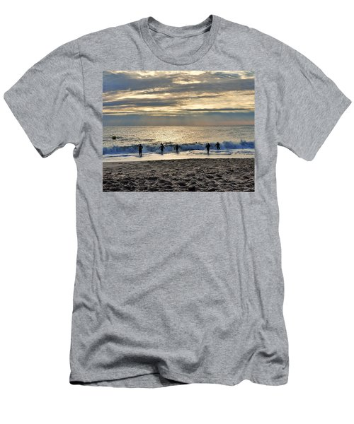 Triathalon Men's T-Shirt (Athletic Fit)