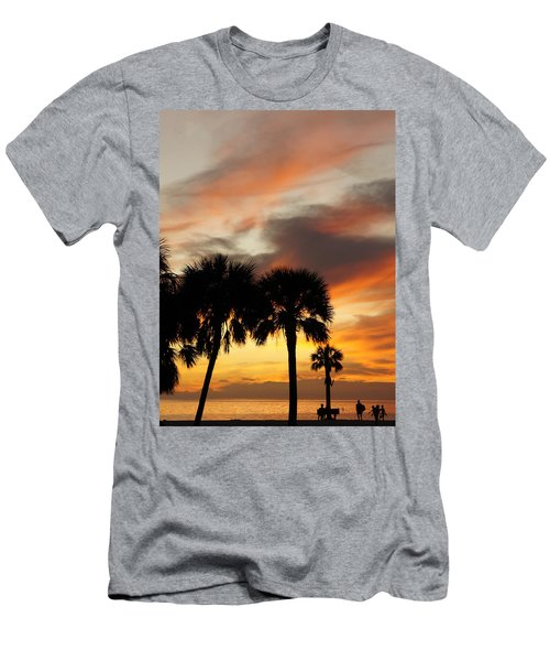 Tropical Vacation Men's T-Shirt (Slim Fit) by Laurie Perry