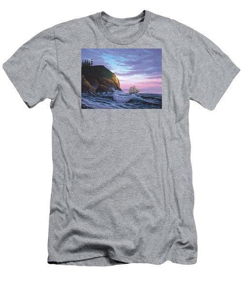 Trusting The Light Men's T-Shirt (Athletic Fit)