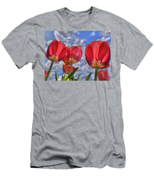 Tulips Are Better Than One Men's T-Shirt (Athletic Fit)