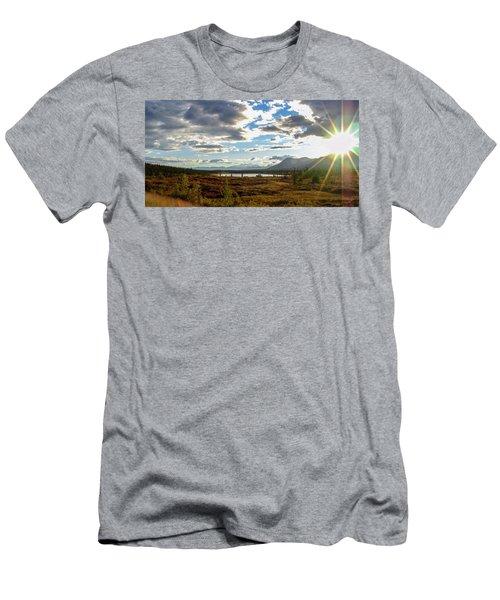 Tundra Burst Men's T-Shirt (Athletic Fit)