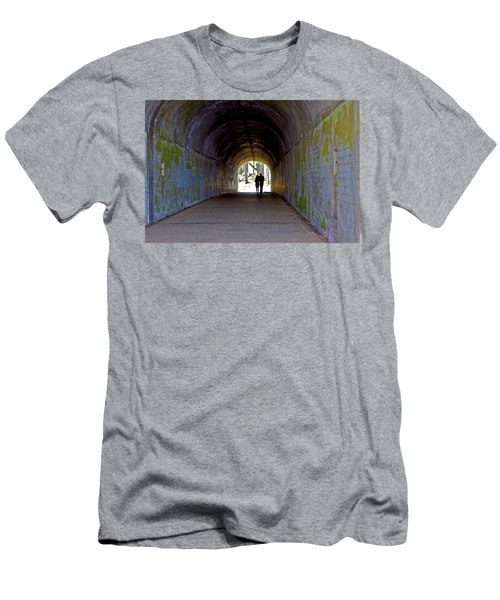 Tunnel Of Love Men's T-Shirt (Athletic Fit)