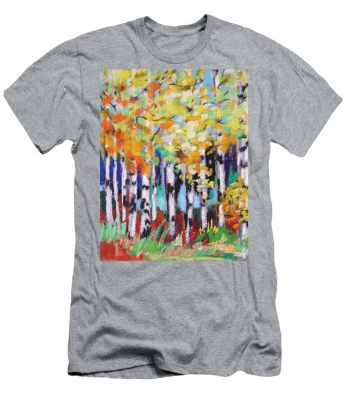 Turning Birches Men's T-Shirt (Athletic Fit)