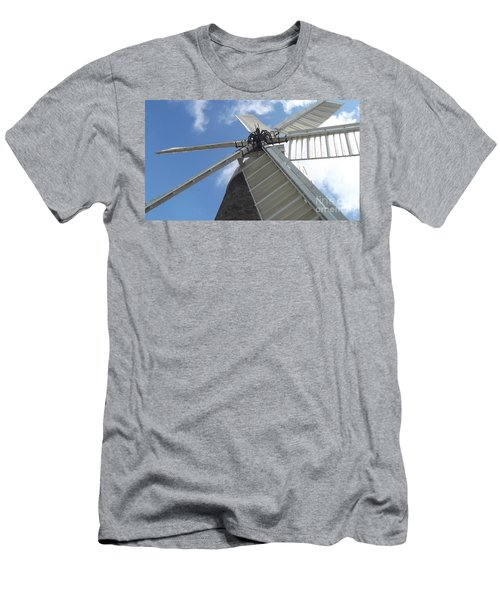 Turning In The Wind Men's T-Shirt (Athletic Fit)