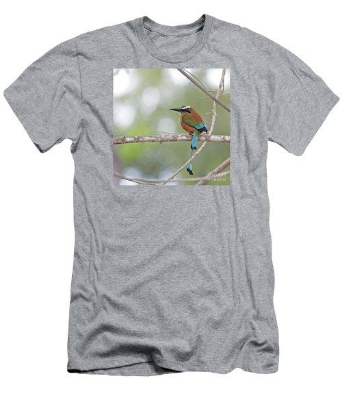 Turquoise Pendant.. Men's T-Shirt (Athletic Fit)